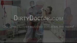 Tiny petite teen gynecologist fucked hard