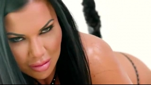 Ebony honey, Jasmine Jae is getting fucked as deep as she can handle, while her boyfriend is working