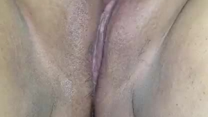 Horny sluts playing with jizz on their faces