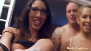 Lovely Katana Foxx orgasms when does her cocksucking friend