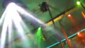 Voluptuous brunette trading oral sex in the club