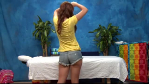 KalArness got a massage from a horny masseur and how he treated her more then ever